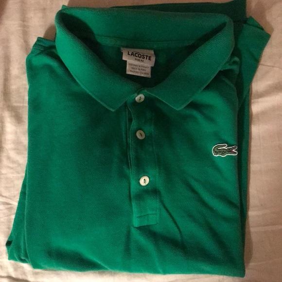 5d9e81b5b957f Green Chemise Lacoste (Polo Style Shirt)